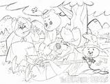 Hillbilly Bears Owsley Patrick Pencil Cartoon Pm Posted sketch template