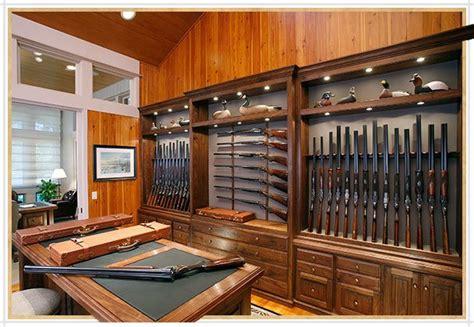 homemade wooden gun storage  rifles modern home