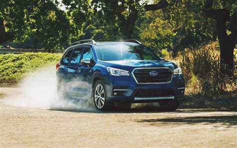 subaru ascent  row suv full review pricing