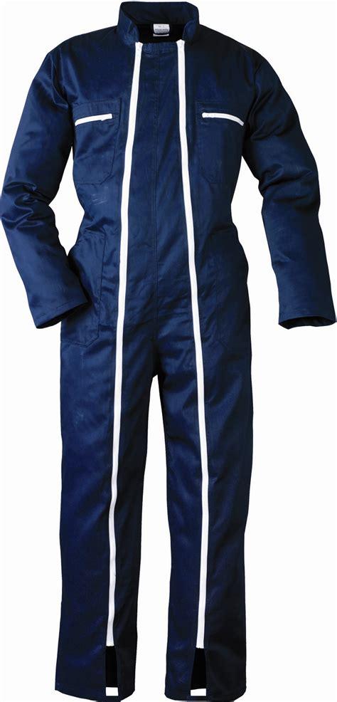 combinaison de travail 2 zips bleu fonc 233 taille l protection sur drivista shop