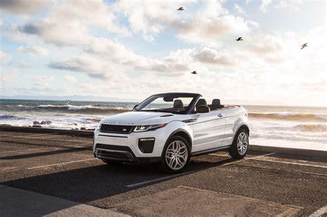2017 range rover evoque convertible test motor trend