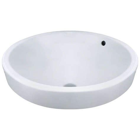 porcelain vessel sink home depot polaris sinks porcelain vessel sink in white p28122v w