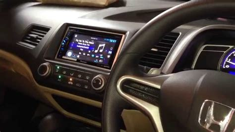 audio mobil honda civic   crescendo opus  innovation car audio jakarta youtube