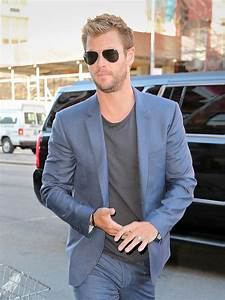 Chris Hemsworth promotes Blackhat in New York|Lainey ...  Chris