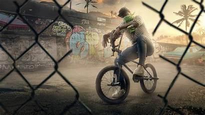 Andreas San Wallpapers 4k Bmx Theft Grand