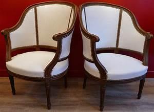 Fauteuil Ancien Bergere : fauteuil berg re antiquites en france ~ Teatrodelosmanantiales.com Idées de Décoration