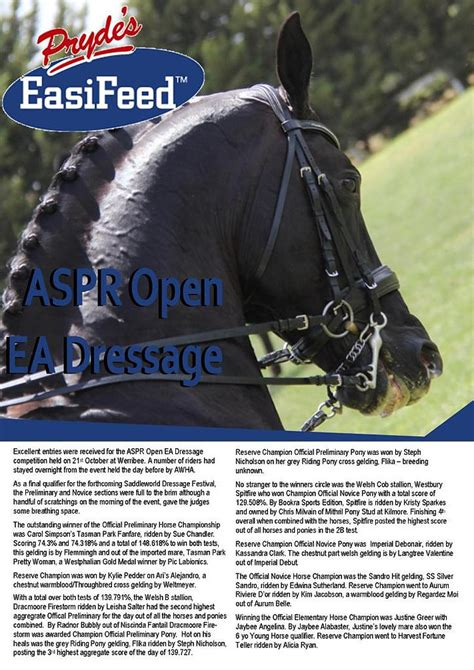 pony horse results pdf young aspr