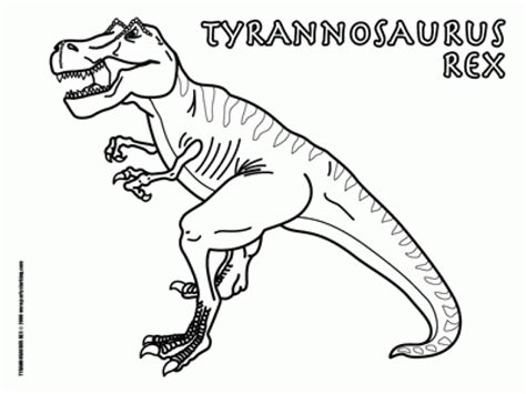 Get This T Rex Coloring Pages Free Printable 75185
