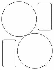 55quot circle labels ol320 With 5 inch circle labels