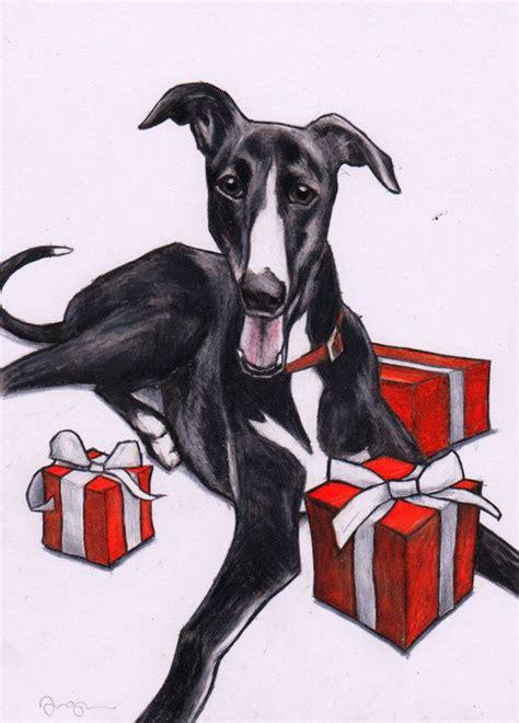 christmas dogs images  pinterest english
