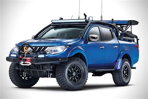 mitsubishi warrior l200 mitsubishi l200 desert warrior hiconsumption