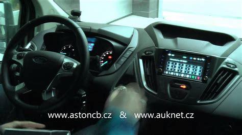 montaz din autoradia hell  gps  ford tourneo custom
