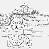 Minion Coloring Minions Pages Viking Drawing Cartoon Nordic Printable Sheets Happy Summer Illustration Banana Activities Adult Vikings Sea North Characters sketch template