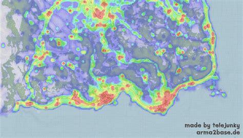 dayz player activity map shows  newbies wont