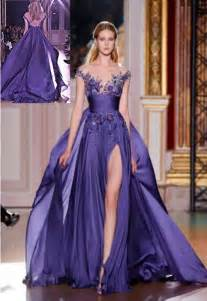 evening dresses for weddings purple wedding gorgous purple bridesmaid gown 2043177 weddbook