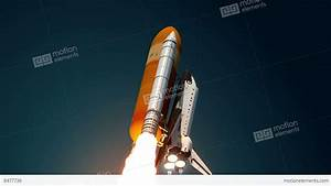 Space Shuttle Take Off Stock Animation | 8477736