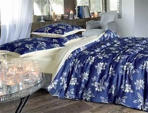 Linge De Lit Discount : linge de lit bleu de minuit linvosges ~ Teatrodelosmanantiales.com Idées de Décoration