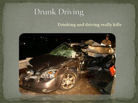 Drunk Driving |authorstream