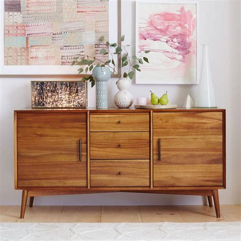 Mid Century Sideboard by Mid Century Buffet Large West Elm Au