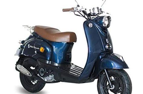 motorroller gmx  retro classic  kmh dunkelblau