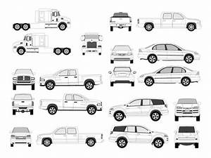 Pro Vehicle Outlines Free Vector In Adobe Illustrator Ai