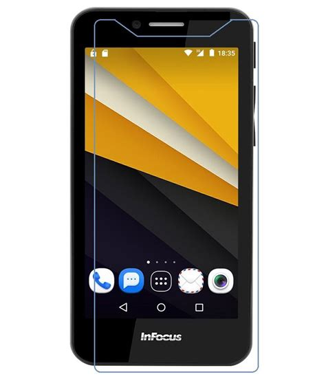 infocus m260 tempered glass screen guard by mercator mobile screen guards at low prices