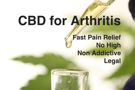 CBD Oil for Arthritis Pain Relief