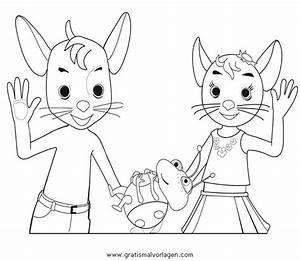 Jonalu, 4, Gratis, Malvorlage, In, Comic, U0026, Trickfilmfiguren
