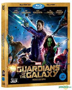 YESASIA: Guardians Of The Galaxy (Blu-ray) (2-Disc) (3D ...