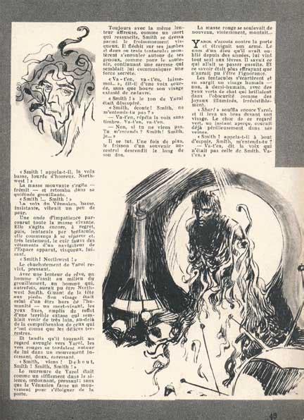 catherine  moores shambleau illustrated  jean claude