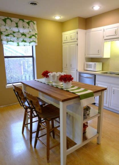 ikea kitchen island with seating remodelaholic budget friendly board and batten kitchen
