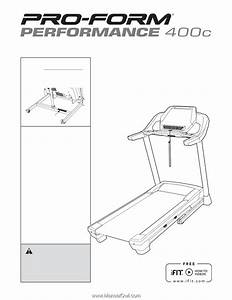 Proform Performance 400 C Treadmill