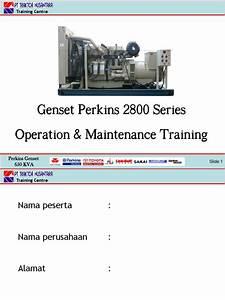 Genset Perkins