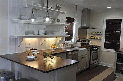 Finished Kitchen! Urban Cottage With Gray Cabinetswood