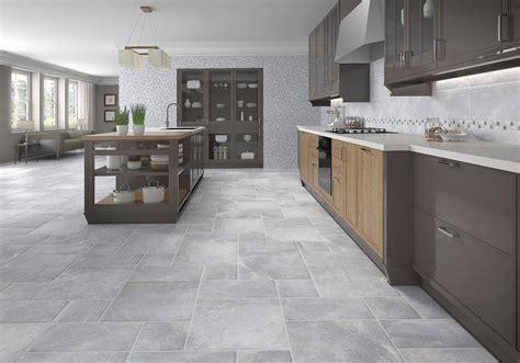 gray tile kitchen floor gray floor tiles kitchen tile design ideas 8557