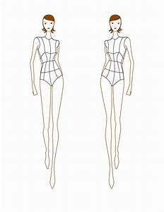 best fashion illustration croquis templates photos With fashion templates front and back female