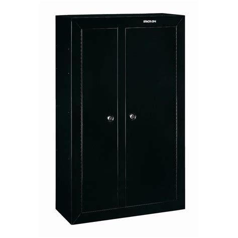 stack on gun cabinet door organizer stack on 10 gun black double door security cabinet gcdb