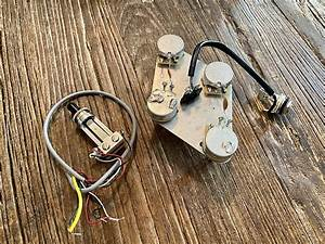 Gibson Usa Les Paul Wiring Harness W   Switchcraft Toggle