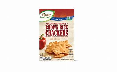 Crackers Rice Aldi Brown Cauliflower Simply Nature