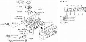 Nissan Frontier Exhaust Manifold  Intake