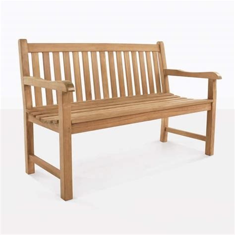 garden teak outdoor bench  seater design warehouse nz