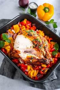 harissa hähnchen mit paprika und roten zwiebeln ina isst