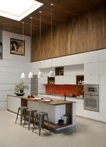 contemporary kitchen islands smart renovated family loft in boston by zeroenergy design