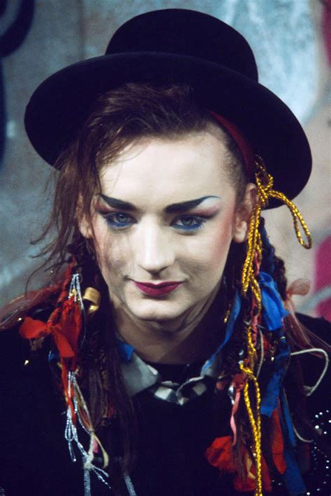Boy George Images The Untold Stories Boy George Blue Eyed Soul Musician