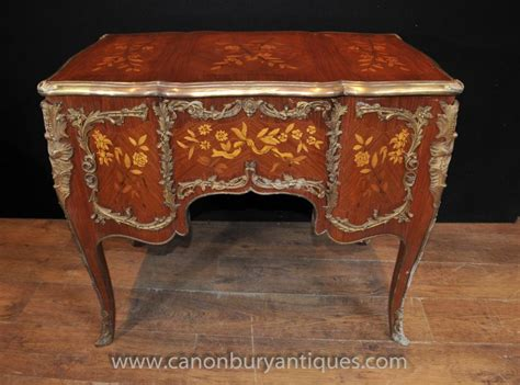 bureau louis 15 antique louis xv knee desk writing table bureau 1920
