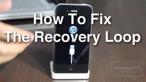 how to fix an iphone that got how to fix the iphone s dreaded recovery loop and