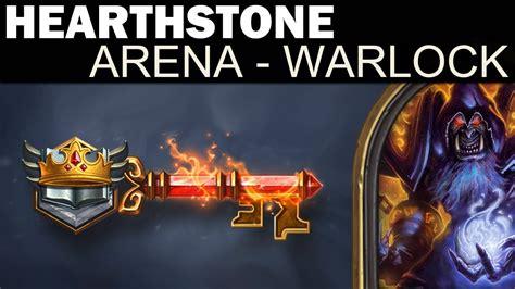 hearthstone arena run 1 warlock deck building