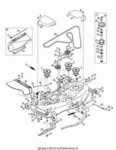 Mtd 13ap925p004  2012  Parts Diagram For Mower Deck 50