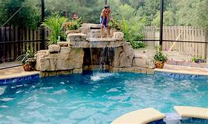 Pool Waterfall Ideas - Home Design