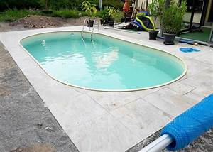 Pool Stahlwand Oval. pool set oval 3 2x5 25x1 20 swimmingpool 0 6 f ...